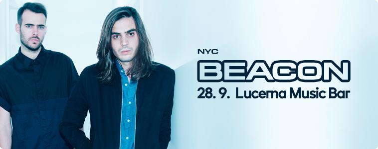 BEACON - | 28. 9. 2016 | 20.00 | LUCERNA MUSIC BAR