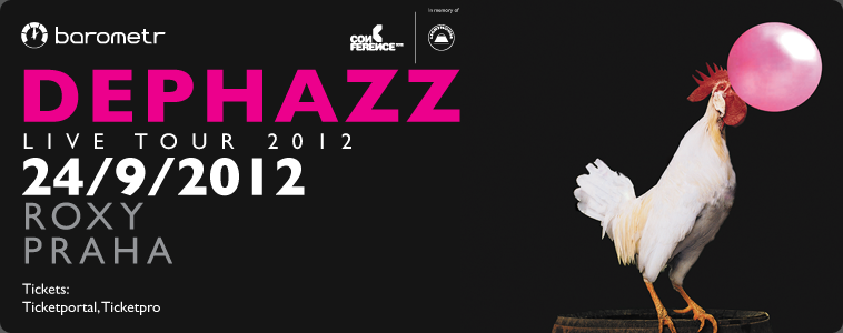 DEPHAZZ | LIVE TOUR 2012 | 24/9/2012 | ROXY PRAHA