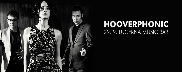 HOOVERPHONIC | 29. 9. 2014 | LUCERNA MUSIC BAR