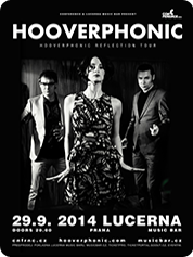 HOOVERPHONIC | 29. 9. 2014 | LUCERNA MUSIC BAR