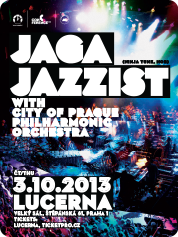 JAGA JAZZIST WITH CITY OF PRAGUE PHILHARMONIC ORCHESTRA | 3. 10. 2013 | LUCERNA, VELKÝ SÁL