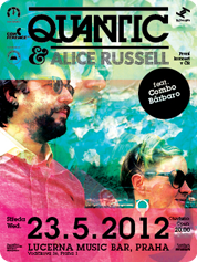 Quantic and Alice Russell feat. The Combo Bárbaro | 23. 5. 2012 | 20.00 | Lucerna Music Bar | Praha