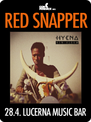 RED SNAPPER | 28. 4. 2015 | 20.00 | LUCERNA MUSIC BAR