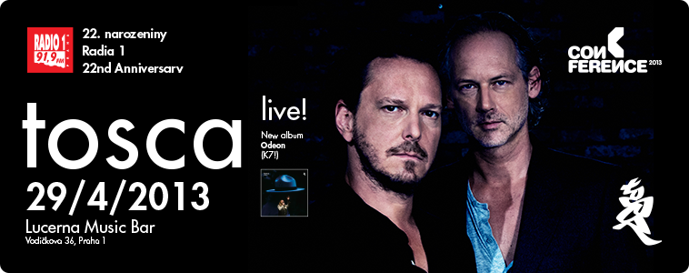 TOSCA | 29. 4. 2013 | LUCERNA MUSIC BAR